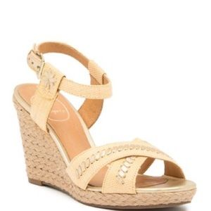 Jack Rogers Abbey Wedge Sandal Size 7